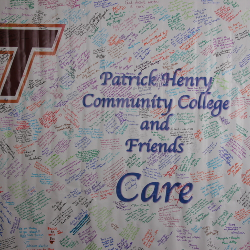 Banner from Patrick Henry Community College