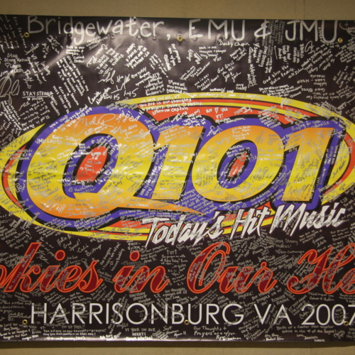 Banner from Q101 FM - Harrisonburg, VA
