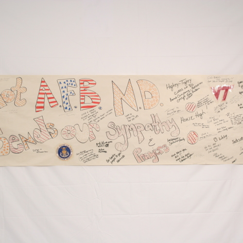 Banner from Minot Air Force Base