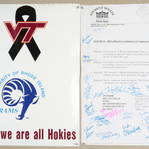 Poster and resolution from University of Rhode Island