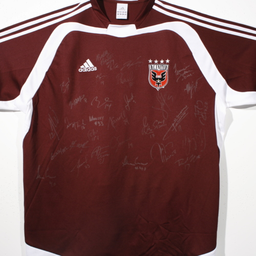 Signed  jersey from D.C. United of Major League Soccer