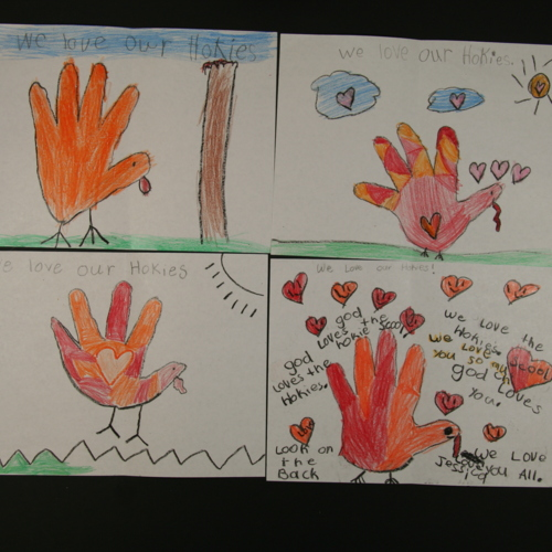 Cards from Mrs. Pawlowski's Class