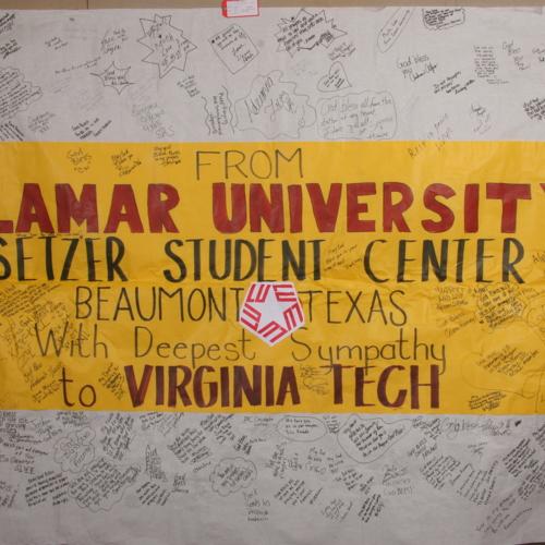 Banner from Lamar University Student Center