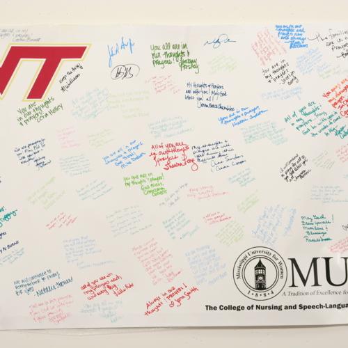 Poster from Mississippi University for Women