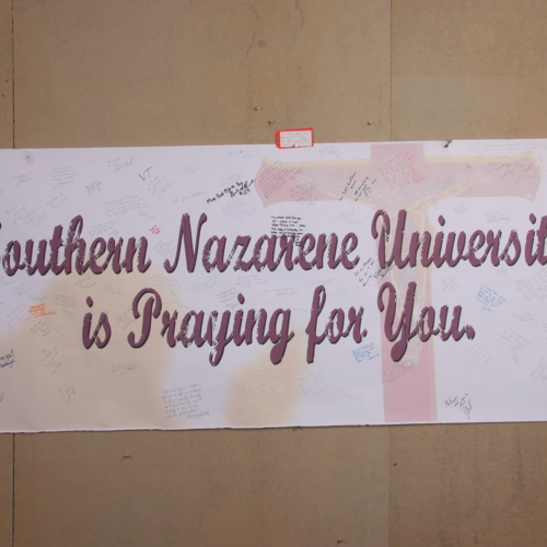 Banner from Southern Nazarene University