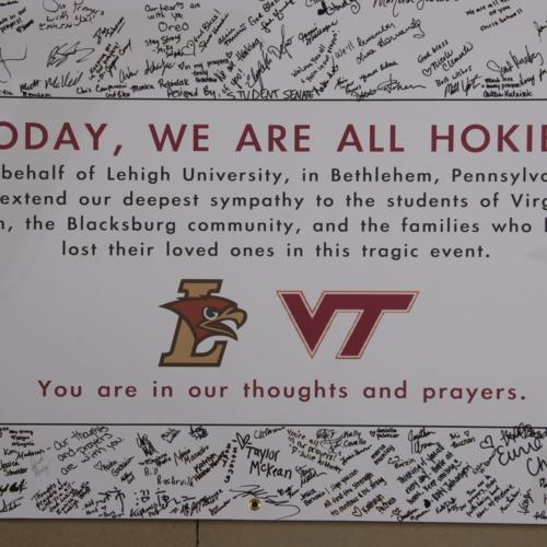 Banner from Lehigh University