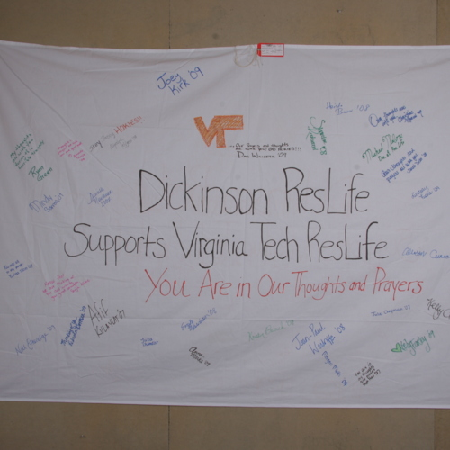 Banner from Dickinson College Reslife