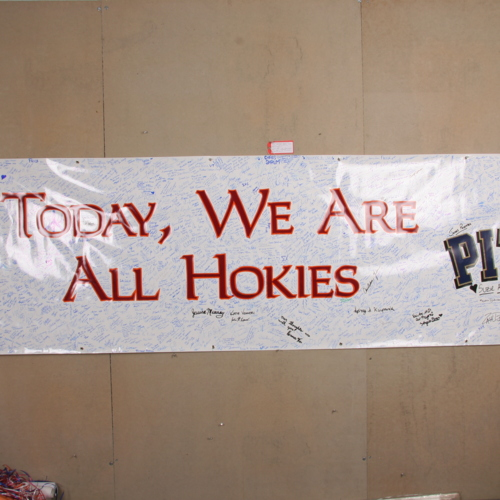 Banner from University of Pittsburgh