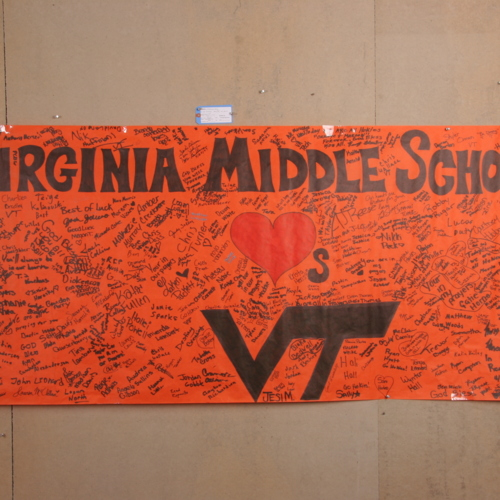 Banner from Virginia Middle School