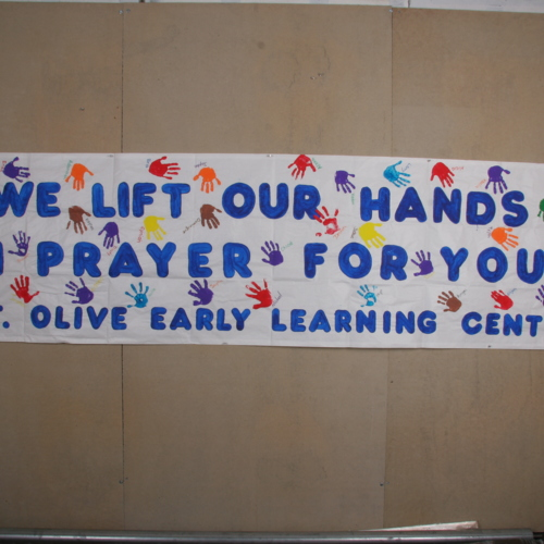 Banner from Mount Olive Early Learning Center