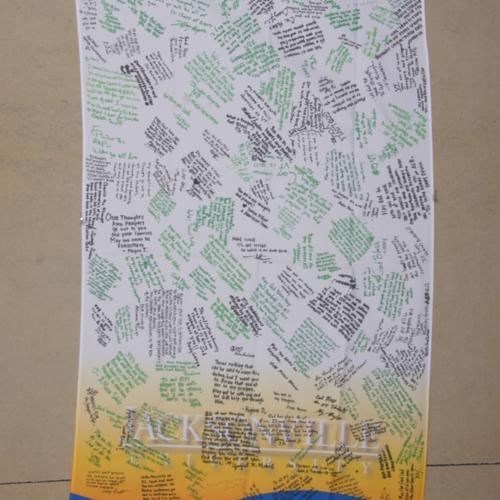 Banner from Jacksonville University
