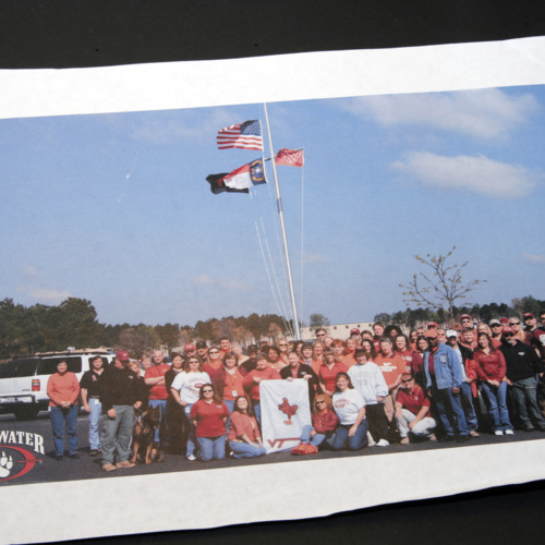 Photograph from Blackwater USA inc. employees