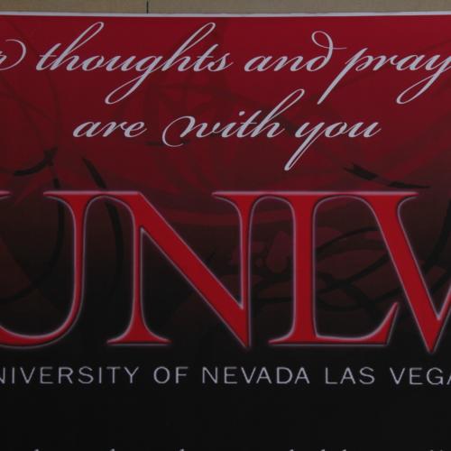 Banner from University of Nevada, Las Vegas