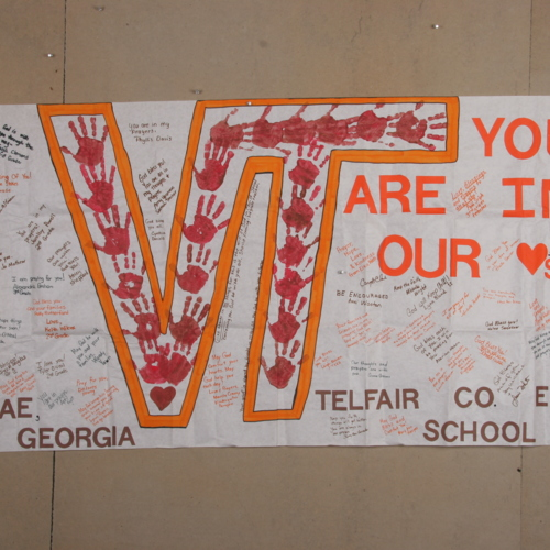 Banner from Telfair County Elementary School