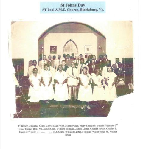 Photograph, St. Paul A.M.E. Church, Blacksburg