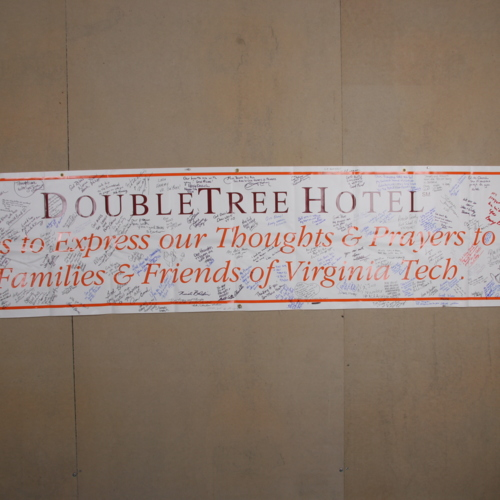 Banner from Doubletree Resort at Richmond Airport