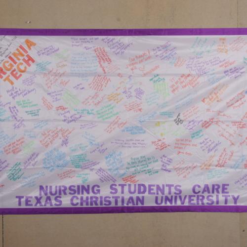 Banner from Nursing School of Texas Christian University