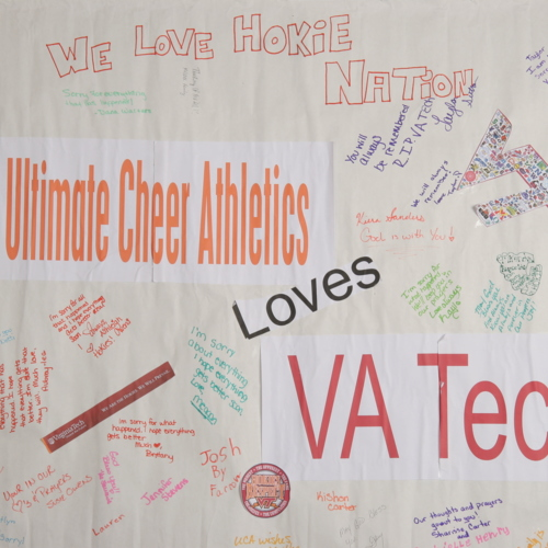 Banner from Ultimate Cheer Athletics