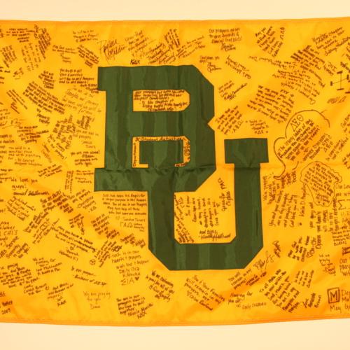 Flag from Baylor University