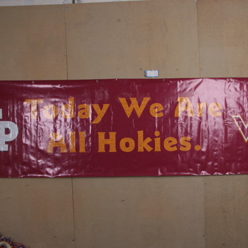 Banner from Georgetown Preparatory School