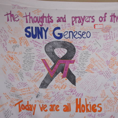 Banner from State University of New York Geneseo