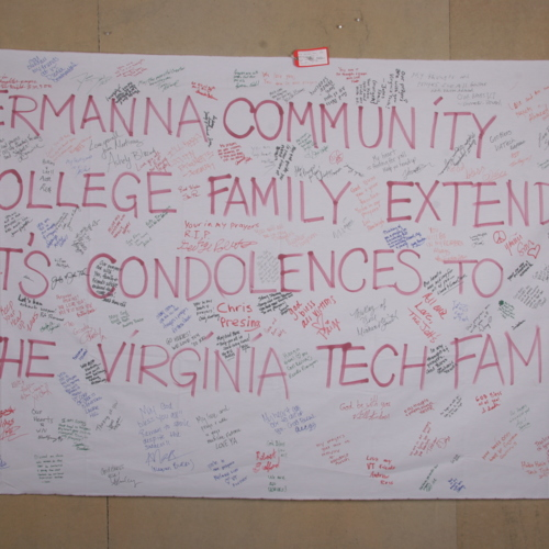 Banner from Germanna Community College