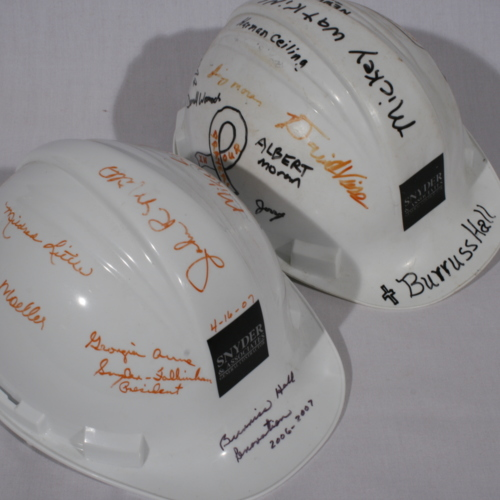 Helmets from Snyder and Associates General Contractor
