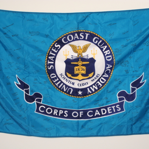 Flag from U.S. Coast Guard Academy