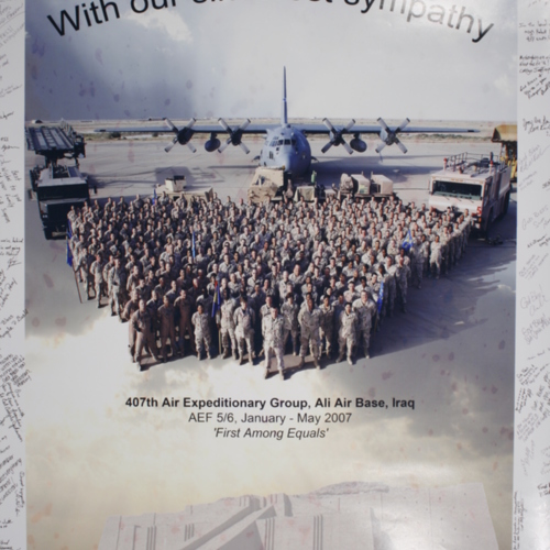 Poster from 407th Air Expeditionary Group