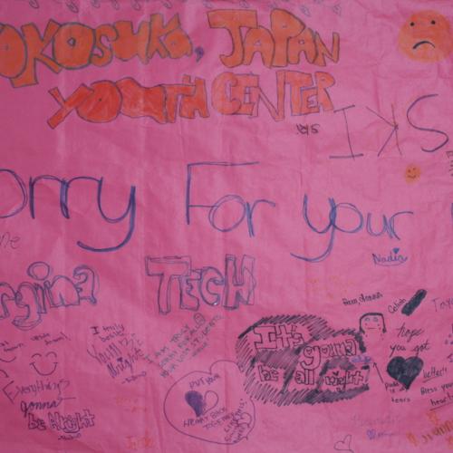 Banner from Yokosuka Youth Center