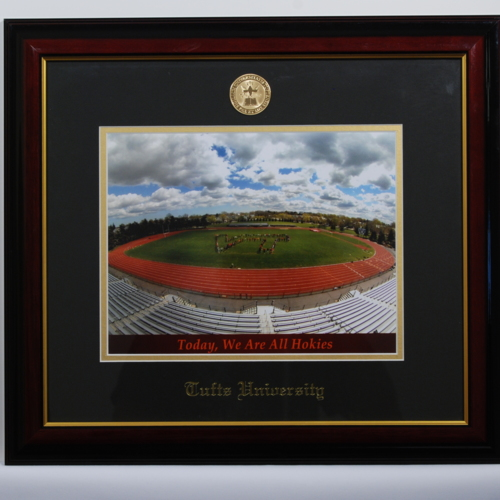 Framed Photograph from Tufts University