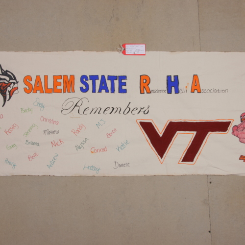 Banner from Salem State College