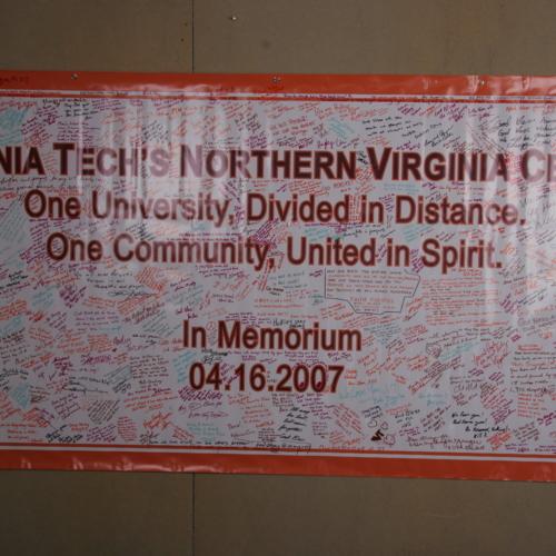 Banner from Virginia Tech - Northern Virginia Center