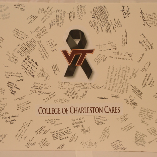 Poster from College of Charleston