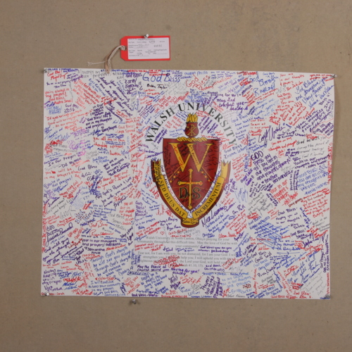 Banner from Walsh University