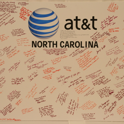 Poster from AT and T of North Carolina