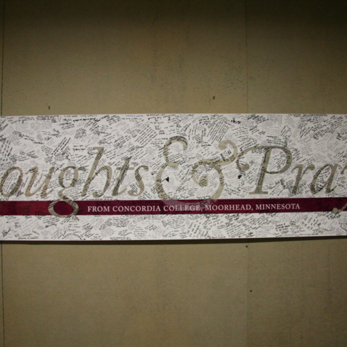 Banner from Concordia College