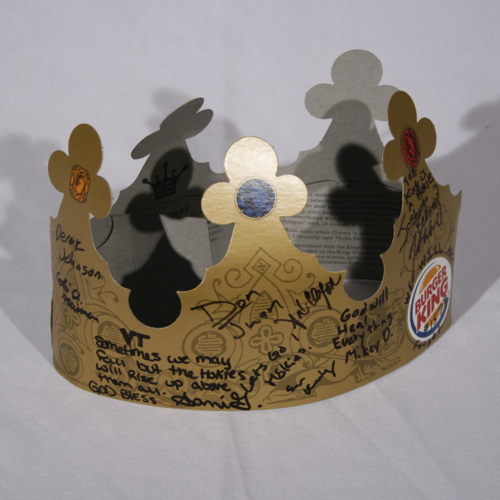 Burger King Crown from Burger King #1578