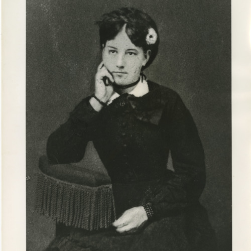 Photograph of Emma Jane (Smith) Anderson, Sherwood Anderson's mother (Ms1973-002)