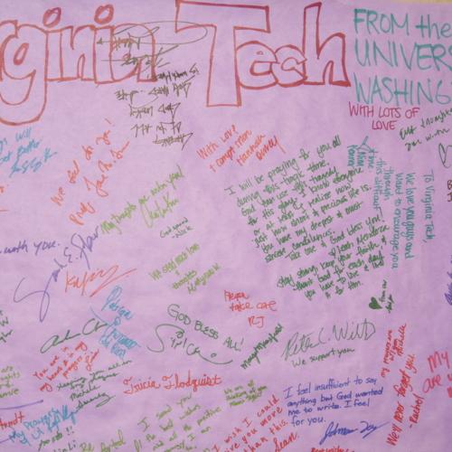 Banner from University of Washington