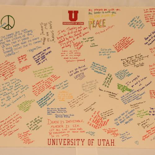 Poster from University of Utah