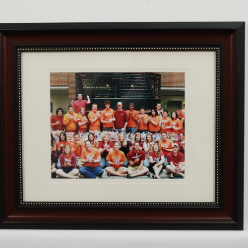 Framed Photograph from the Student Government Association at Oklahoma State University