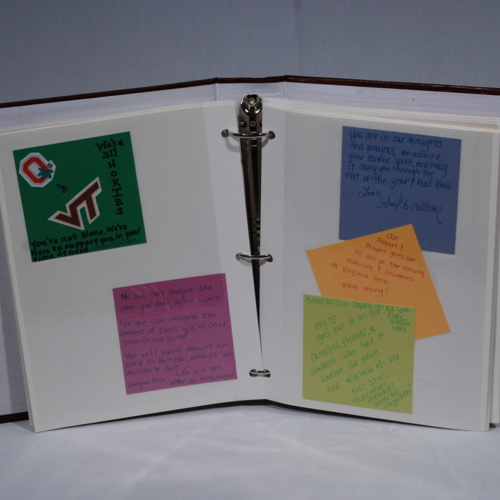 Memory Book from Ohio State University