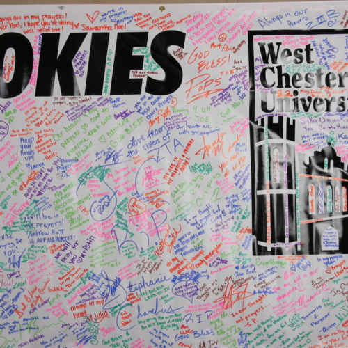 Banner from West Chester University of Pennsylvania