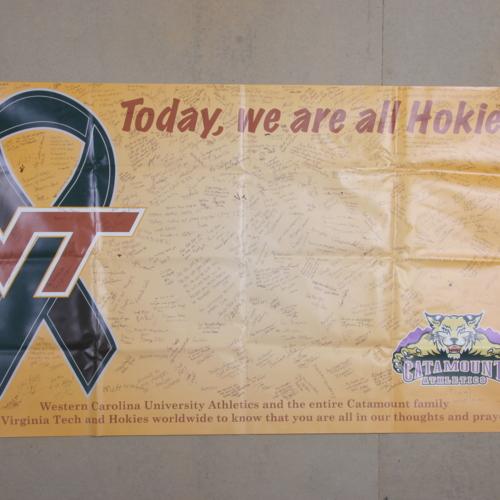 Banner from West Carolina University Department of Athletics