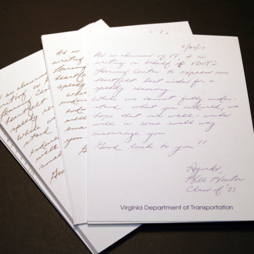 Cards from Virginia Department of Transportation (VDOT)
