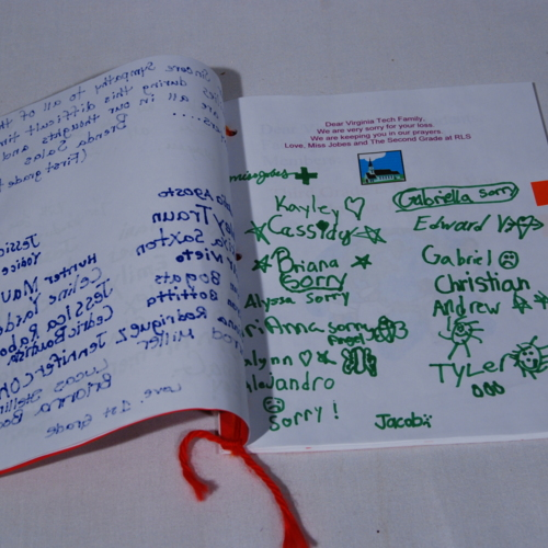 Memory Book from Redeemer Lutheran School