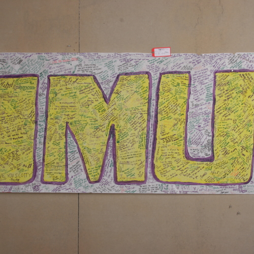Banner from James Madison University