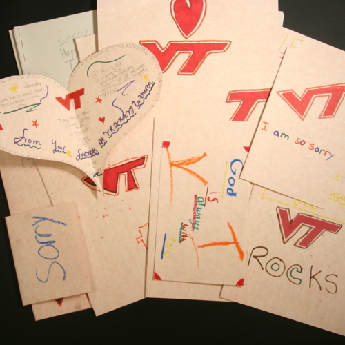 Cards from Trinity Lutheran School