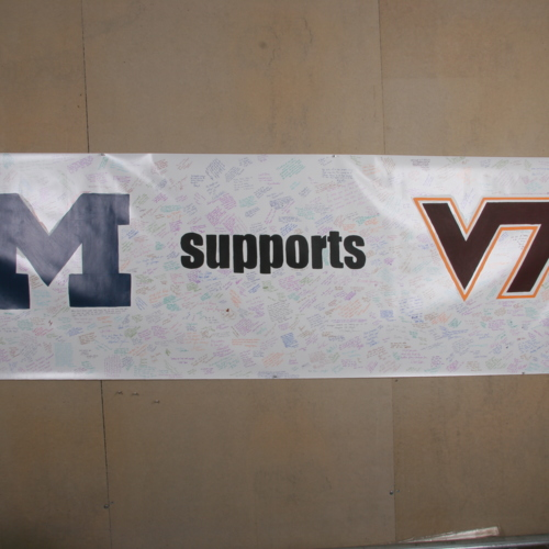 Banner from University of Michigan